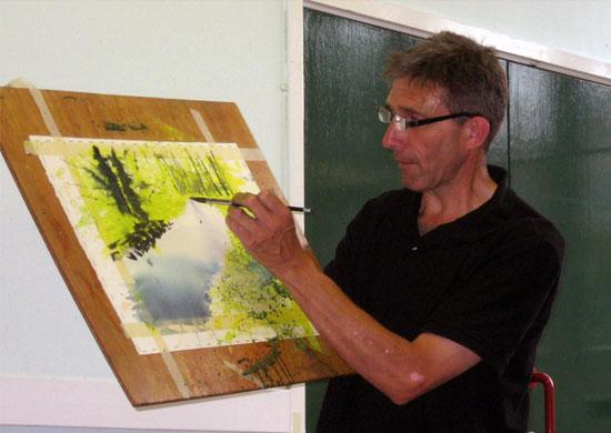 Английский художник Джо Фрэнсис Дауден