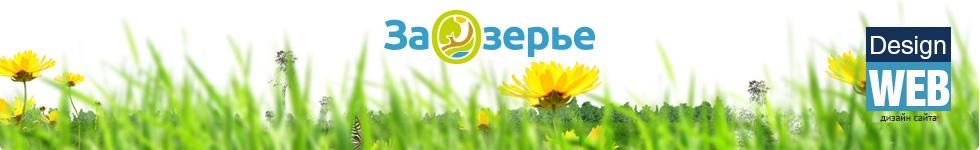 Сайт посёлка «Заозерье»