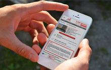 сайт для мобильного телефона